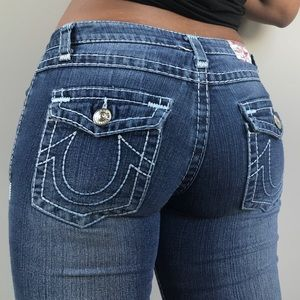 true religion flare jeans